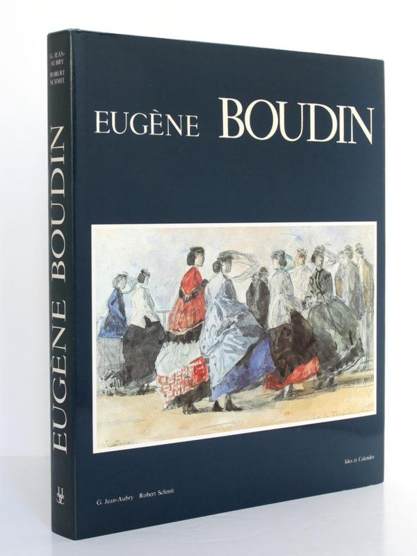 Eugène Boudin, G. Jean-Aubry, Robert Schmit. Ides et Calendes, 1987. Jaquette : dos et premier plat.