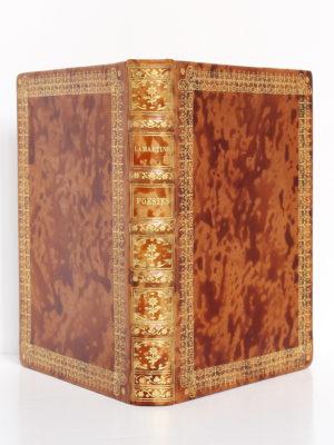 Poésies de A. de Lamartine. Le livre français H. Piazza éditeur, 1925. Reliure : dos et plats.