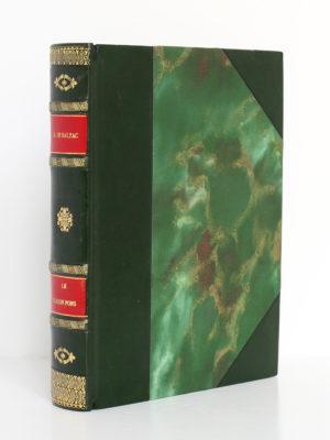 Le Cousin Pons, BALZAC. Dessins de Pierre ROUSSEAU. Éditions Albert Guillot, 1949. Reliure.