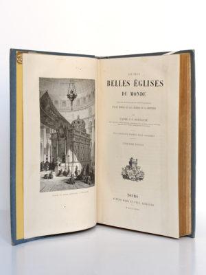 Les plus belles églises du monde, Abbé J.J. Bourassé. Illustrations d'après Karl Girardet. Alfred Mame et fils Éditeurs, 1885. Frontispice et page titre.
