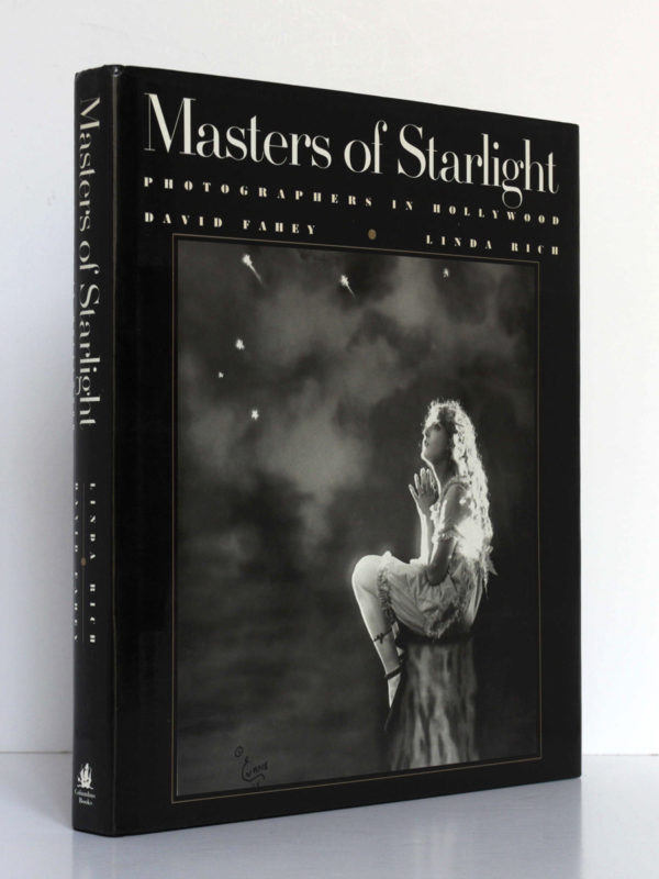 Masters of Starlight Photographers in Hollywood, David Fahey, Linda Rich. Columbus Books, 1988. Jaquette : dos et couverture.