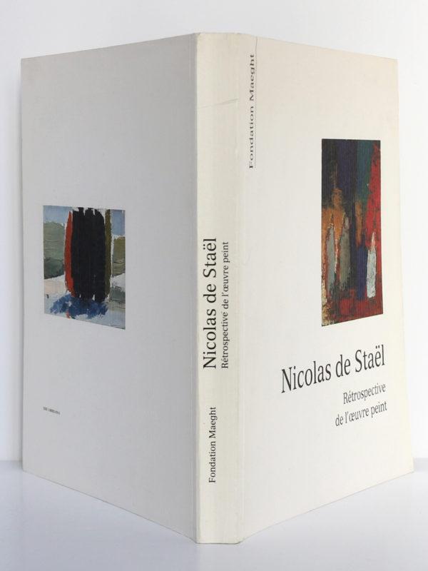Nicolas de Staël, rétrospective de l'œuvre peint 1991. Fondation Maeght. Couverture : dos et plats.