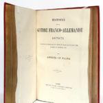Histoire de la guerre franco-allemande 1870-71, Amédée Le Faure. Garnier Frères Libraires-Éditeurs, sans date [vers 1880]. Page-titre du tome 2.