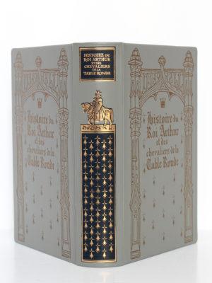 Histoire du roi Arthur et des chevaliers de la Table Ronde. Chez Jean de Bonnot, 1997. Reliure : dos et plats.