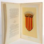 Les Armoiries des provinces françaises, MEURGEY DE TUPIGNY, Robert LOUIS. Girard & Barrère, 1951. Pages intérieures 3.