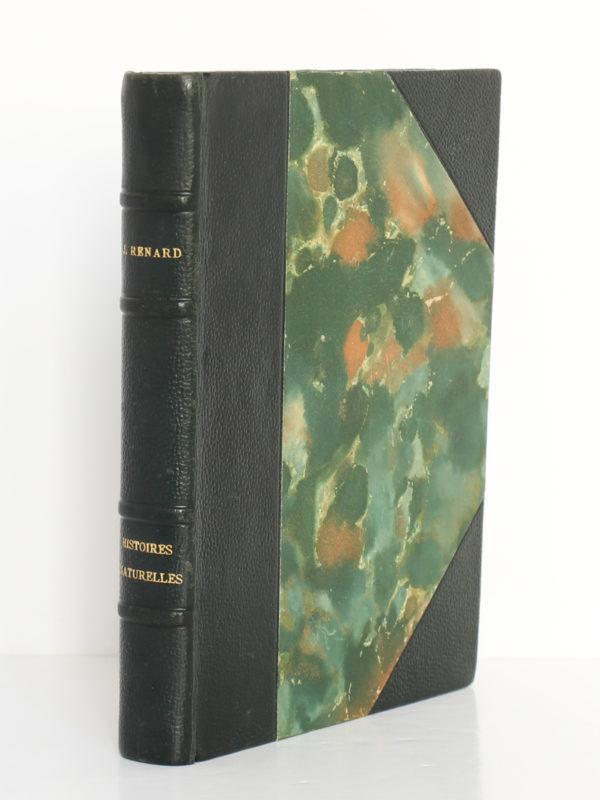 Histoires naturelles, Jules Renard. Flammarion, 1945. Reliure.