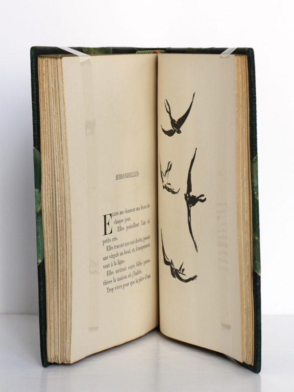 Histoires naturelles, Jules Renard. Flammarion, 1945. Pages intérieures.