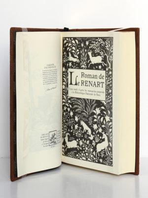 Le Roman de Renart. Jean de Bonnot, 1994. Page titre.