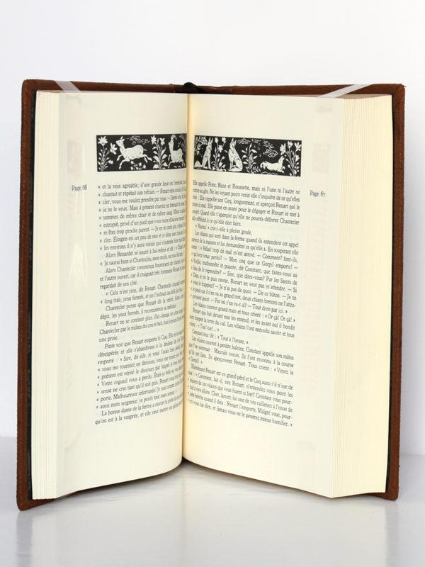 Le Roman de Renart. Jean de Bonnot, 1994. Pages intérieures.