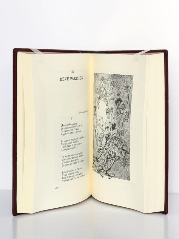 Œuvre poétique, Charles Baudelaire. Chez Jean de Bonnot, 1982. Pages intérieures.