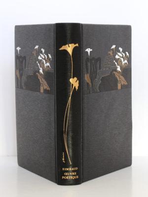 Œuvre poétique, Arthur Rimbaud. Chez Jean de Bonnot, 1993. Reliure : dos et plats.