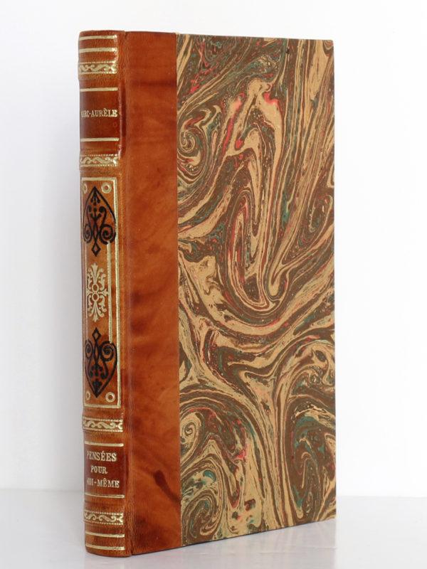 Pensées pour moi-même, Marc-Aurèle. Librairie Garnier Frères, sans date [vers 1951]. Reliure.