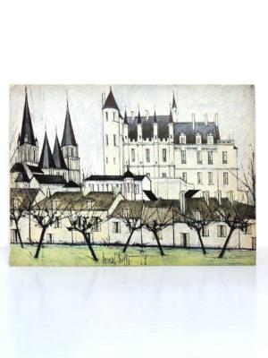 Châteaux de la Loire par Bernard Buffet. Galerie Maurice Garnier, 1970. Couverture.