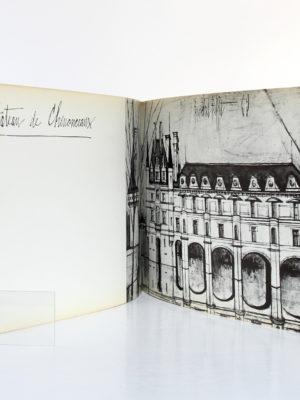 Châteaux de la Loire par Bernard Buffet. Galerie Maurice Garnier, 1970. Pages intérieures 1.
