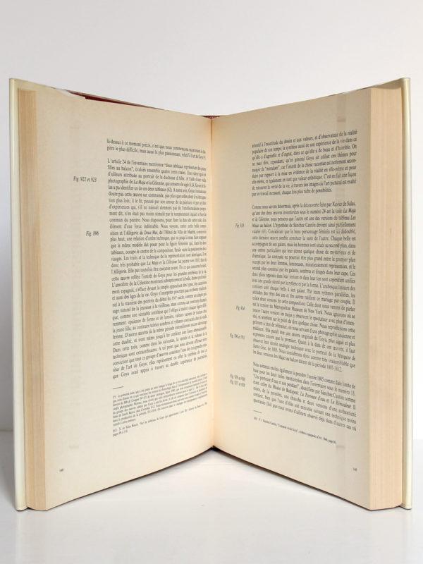 Goya Biographie, Analyse critique, Catalogue des peintures, par José GUDIOL. Pages intérieures 2.
