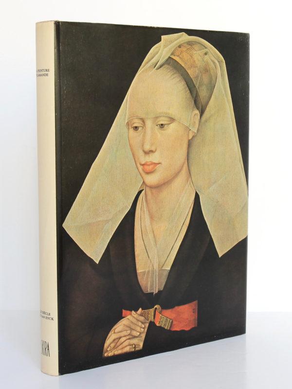 La peinture flamande Le siècle de VanEyck, Jacques Lassaigne. Skira, 1977. Premier plat et dos.