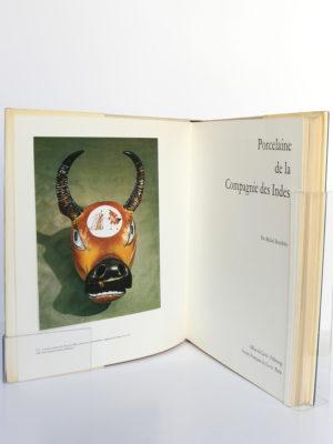 Porcelaine de la Compagnie des Indes, Michel Beurdeley. Office du Livre, 1974. Frontispice et page titre.