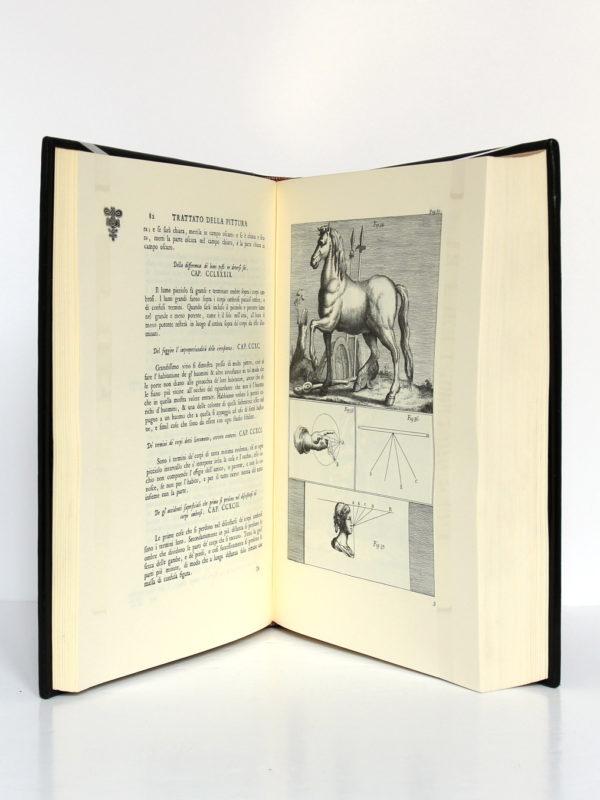 Le Traité de la peinture, Léonard de Vinci. Chez Jean de Bonnot, 1982. Pages intérieures 1.