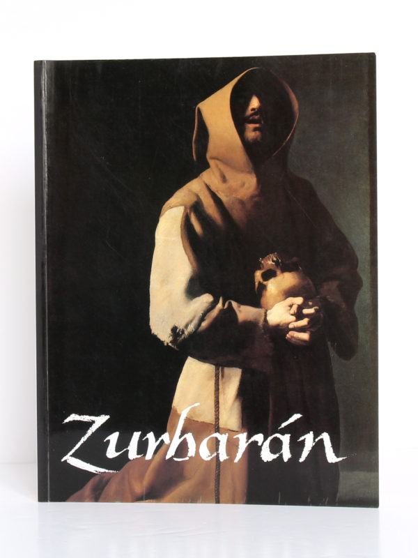 Zurbaran, catalogue 1987. Sous la direction de Jeannine Baticle. The Metropolitan Museum of Art, 1987. Couverture.