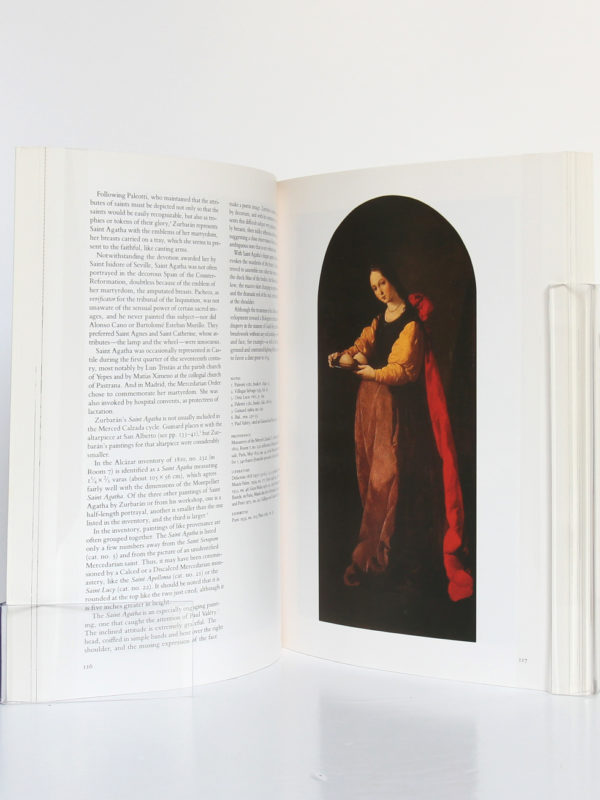 Zurbaran, catalogue 1987. Sous la direction de Jeannine Baticle. The Metropolitan Museum of Art, 1987. Pages intérieures.