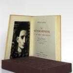 La métamorphose et autres nouvelles, Franz Kafka. Imprimerie Nationale/André Sauret, 1957. Frontispice et page titre.
