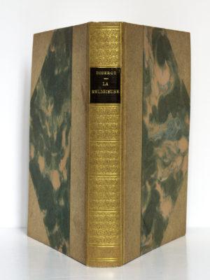 La Religieuse, Denis Diderot. Illustrations de Victor Lhuer. Éditions Arc-en-Ciel, 1943. Reliure : dos et plats.
