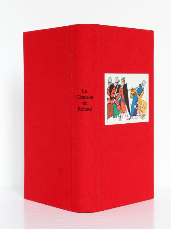 La Chanson de Roland. Club des Libraires de France, 1962. Reliure : dos et plats.