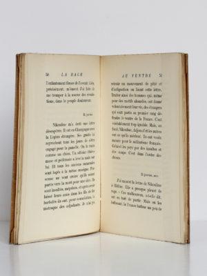 La rage au ventre, Joseph Kessel. Éditions EOS, 1927. Pages intérieures.