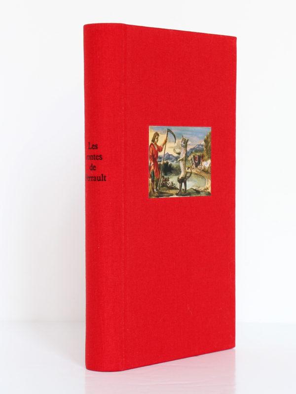 Les Contes de Perrault. Club des Libraires de France, 1964. Dos et premier plat.