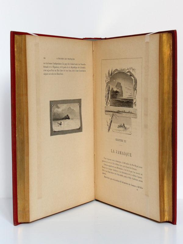 À travers les tropiques, Lady Brassey. Charavay-Mantoux-Martin, sans date [1893]. Pages intérieures 2.