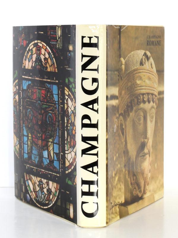 Champagne romane. La nuit des temps 55. Zodiaque, 1981. Jaquette.