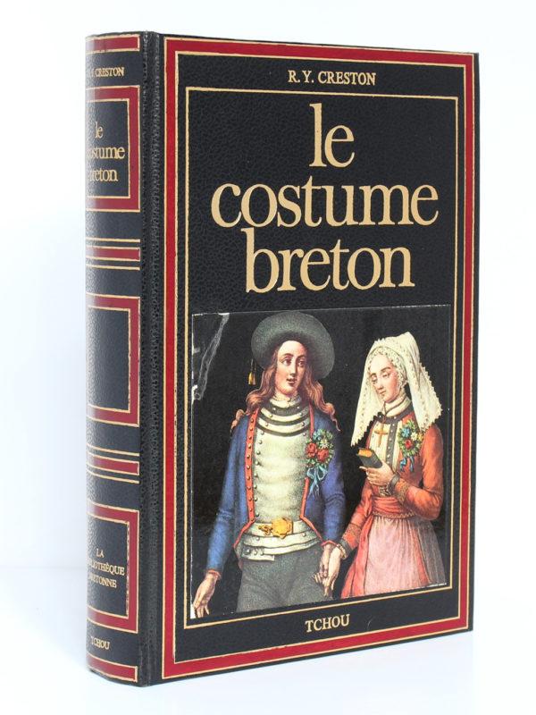 Le costume breton, René-Yves Creston. Tchou Éditeur, 1978. Couverture : dos et plat 1.