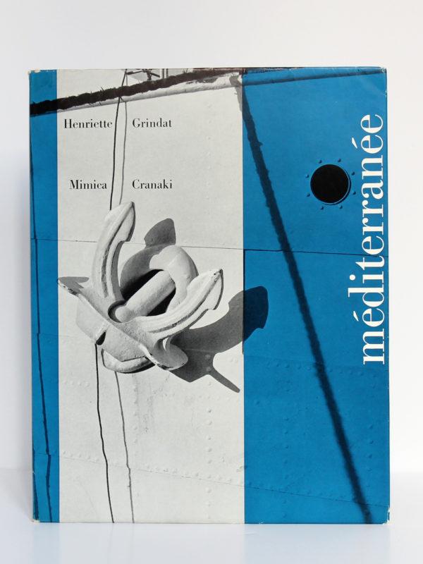Méditerranée, par Henriette Grindat et Mimica Cranaki. La Guilde du Livre et Éditions Clairefontaine, 1957. Couverture.