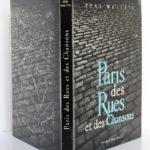 Paris des Rues et des Chansons, René Maltête. Éditions du Pont-Royal, 1960. Couverture : dos et plats.