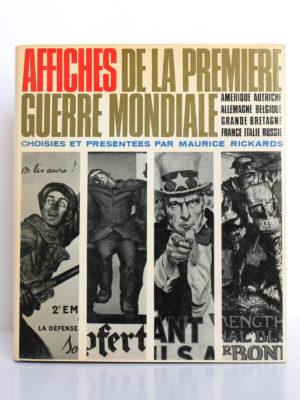 Affiches de la première guerre mondiale, Maurice Rickards. Albin Michel, 1968. Couverture.