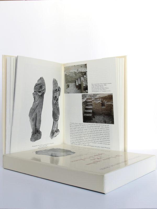 De Lutèce oppidum à Paris capitale de la France (vers -225? - 500), Paul-Marie Duval. Bibliothèque historique de la Ville de Paris, 1993. Pages intérieures 2.