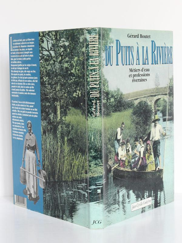 Du puits à la rivière, Gérard Boutet. Éditions Jean-Cyrille Godefroy. Jaquette.