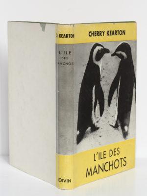 L'île des manchots, Cherry Kearton. Hatier-Boivin, 1953. Jaquette.