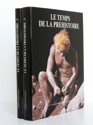 Le Temps de la Préhistoire, sous la direction de Jean-Pierre Mohen. Archeologia, 1989. Tomes I et II.