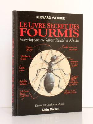 Le Livre secret des fourmis, Bernard Werber. Albin Michel, 1993. Couverture.