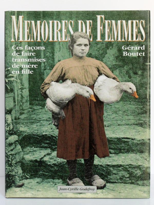 Mémoires de femmes, Gérard Boutet. Jean-Cyrille Godefroy. Couverture.
