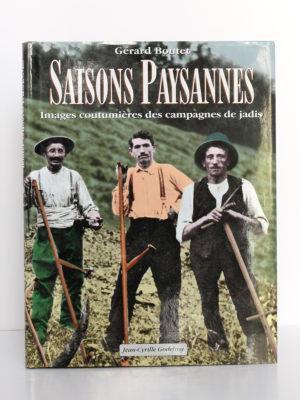Couverture du livre Saisons Paysannes de Gérard Boutet.