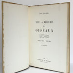 Vie et Mœurs des oiseaux, Paul Barruel. Horizons de France, 1961. Page titre.