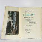 L'Aiglon, Edmond Rostand. Éditions Le Chant des Sphères, 1964. Frontispice et page titre.