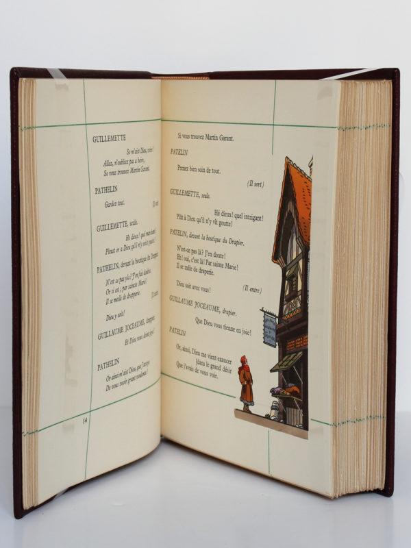 Les farces du Moyen-Âge. Union Latine d'Éditions, 1937. Pages intérieures.