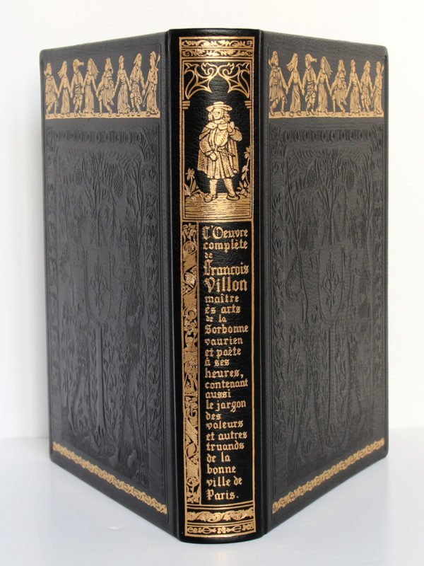 L'Œuvre complète de François Villon. Chez Jean de Bonnot, 1982. Reliure : dos et plats.