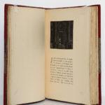 Une nuit au Luxembourg, Rémy de Gourmont. Chez Claude Aveline, 1926. Pages intérieures.