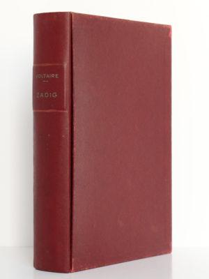 Zadig, Micromégas, Voltaire. Illustrations de Paul-Émile Bécat. Éditions Arc-en-Ciel, 1951. Chemise et étui.