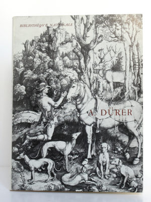 Albert Dürer. Catalogue de l'exposition à la Bibliothèque Nationale en 1971. Couverture.