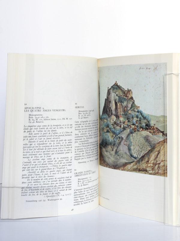 Albert Dürer. Catalogue de l'exposition à la Bibliothèque Nationale en 1971. Pages intérieures.